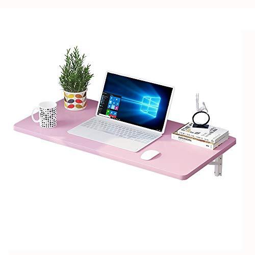 JCCOZ -T Mesa plegable de pared para ordenador, mesa de comedor, ahorra espacio, varios tamaños opcionales T (tamaño: 80 x 40 cm)