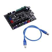 Homyl USBケーブルが付いているMKS SBASEV1.3 3Dプリンターコントローラーボード32bitマザーボード