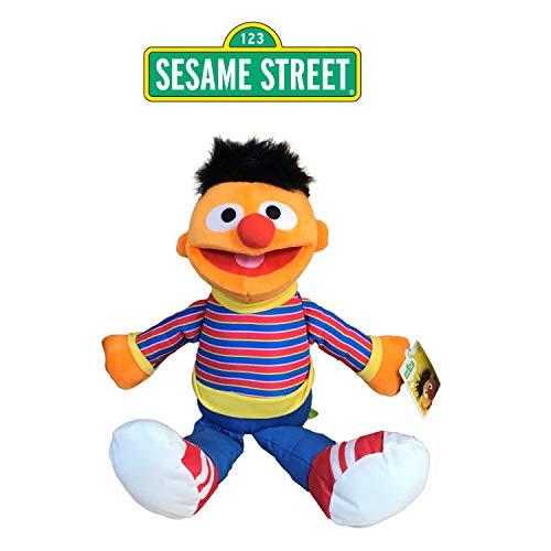 SESAMSTREET Sesame Street - Barrio Sesamo Peluche Epi (Naranja) 28cm Sentado y 40cm de pie - Calidad Super Soft