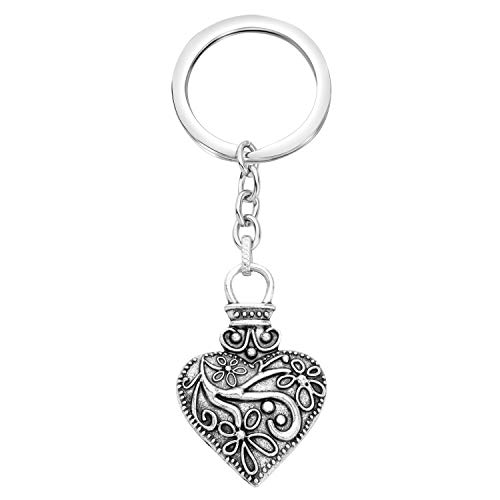 UJIMS The Vampire Diaries Inspired Jewelry for BFF Fashion Vampire Fans Key Ring Vampire Diaries TV Show Gifts