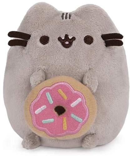 GUND Pusheen with Donut Dangler Hanging Plush Stuffed Animal Cat