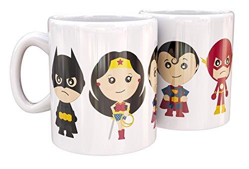 Mug de Cerámica Little Heroes