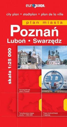 Poznań. Plan miasta w skali 1:25 000: skala 1:25 000