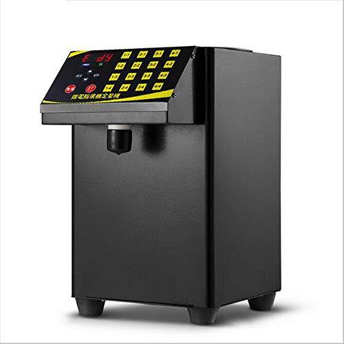 Luftblasentee Zuckermaschine 9L Fruktose quantitative Maschine 16 grid automatische Fruktose Maschine Sirups Maschine,110v60hz