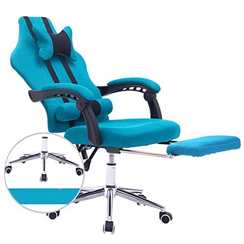 E-Sports-Spielstuhl-Vorsitzender ergonomischer komfortabler Liegestuhl Home Office-Schwenkstuhl kann erhöht und abgesenkt Werden 2