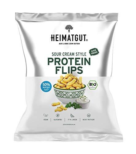 Heimatgut - BIO Protein Flips - Sour Cream Style DE-ÖKO-039 - 75g Tüte