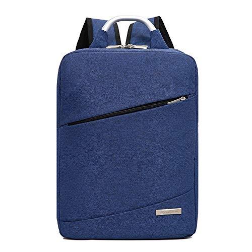 Laptoptas Rugzak Zakelijke Rugzak Vrije tijd Reistas, 44 × 30 × 16cm, Blauw