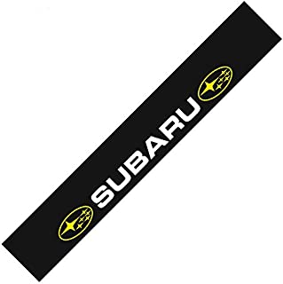 BZQq Car Body Decal Decoration front windshield Banners stickers Apply For Subaru(Black background 130×21cm)
