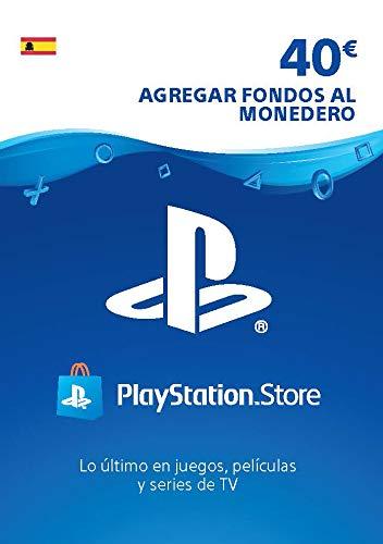 Sony, PlayStation - Tarjeta Prepago PSN 40€ | PS5/PS4/PS3 | Código de descarga PSN - Cuenta española