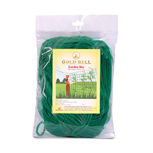 GOLD BELL  TRELLISS Netting Plant Netting  59 X 89 FT for Climbing Vine and Vegetable 59 X 89 FT