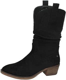 Botas de mujer Xti estilo cowboy con pliegue