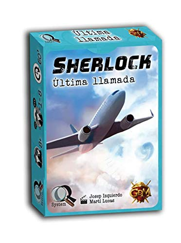 GM Games Sherlock: Última Llamada (GDM Games GDM123)