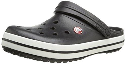 Crocs Crocband Unisex, Zuecos Adulto, Negro, 43/44 EU
