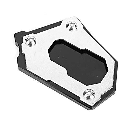 Aramox Aerox Seitenständer Vergrößerungsplatte, Motorrad Seitenständer Verlängerung Kissen Vergrößerung CNC Aluminiumlegierung Passend für F750GS F850GS 2018-2019