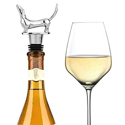 LYWUU-Weinflaschenverschluss-in-Dackel-Form-fuer-Champagner-Sekt-Sekt-Sekt-Sekt-Sekt-Sekt-Sekt-Sekt