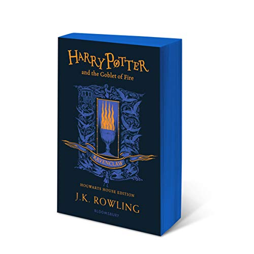 Harry Potter and the Goblet of Fire – Ravenclaw Edition: J.K. Rowling (Ravenclaw Edition - Blue)