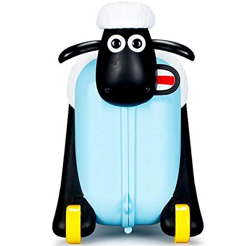 Shaun das Schaf Kinderkoffer (Blau) - 2