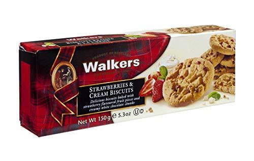 三菱食品 ウォーカーストロベリークリームビスケット 150g