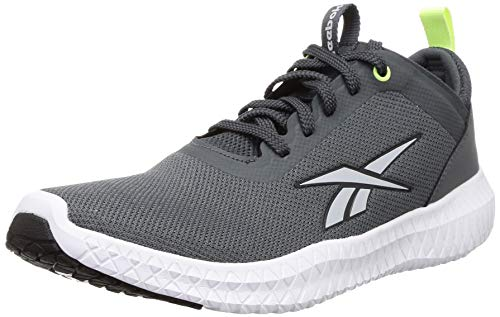 Reebok Men's Leo Tr Lp True Grey/Electric Flash Training Shoes-10 UK (43 EU) (11 US) (FW1734)