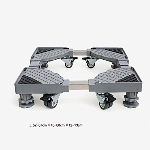 LJ Roller Automatische Waschmaschine Basis Edelstahl Feste Erhöhung Riemenscheibe Stent (größe : 6 feet)