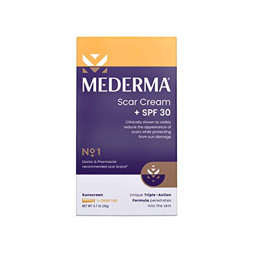 Mederma Scar Cream Plus SPF 30 (20 g), 0.7 Ounce