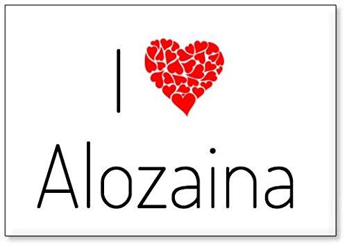 Mundus Souvenirs - Amo Alozaina, Imán para Nevera (diseño 2)
