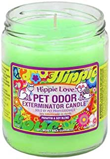 Pet Odor Exterminator Candle Hippie Love