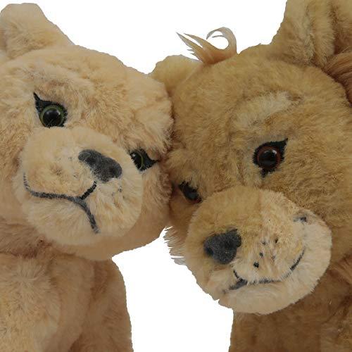 Giochi Preziosi Disney Re Leone Coppia Peluche Simba e Nala