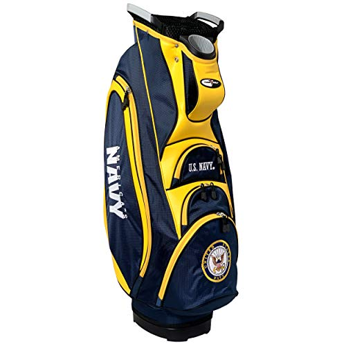 %29 OFF! Team Golf Military Navy Victory Golf Cart Bag, 10-Way Top with Integrated Dual Handle & Ext...