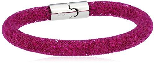 Swarovski Damen-Armband Metalllegierung Glas pink 20.0 cm - 5092091