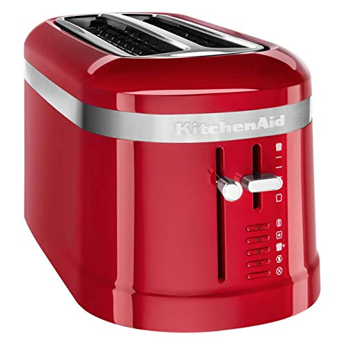 KitchenAid Design Collection Grille-pain 4 tranches Rouge empire