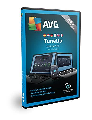 AVG TuneUp | 10 dispositivi | 1 anno | Box | Velocizza, pulisci e correggi i problemi del PC