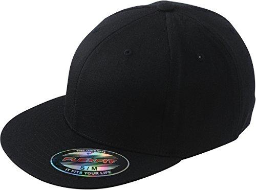 Myrtle Beach Myrtle Beach - Flexfit Flatpeak Cap Small / Medium,Black