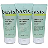 Basis Cleaner Clean Face Wash - Deep Cleans and Refreshes for Normal to Oily Skin, Oil-fre...