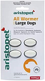 Aristopet All Wormer 4 Tablets for Large Dogs, 4 Count