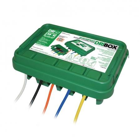 GREEN 285 DRI-BOX WEATHERPROOF CONNECTION BOX