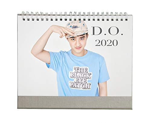Fanstown Kpop EXO 2020 Collective Edition Desk Calendar Personalize Style Avaliable