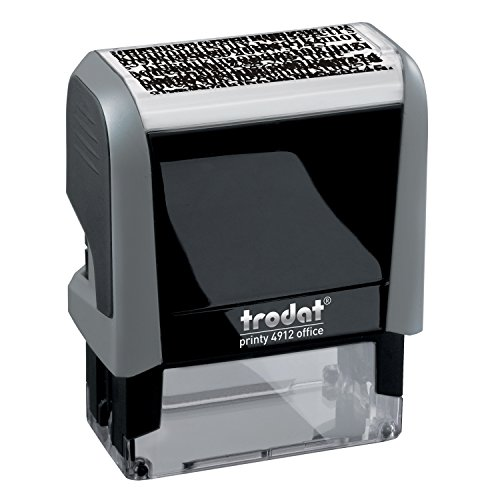 Trodat Print 4912 Self-Inking ID Protection Stamp (Printy 4912 ID Protection Stamp)