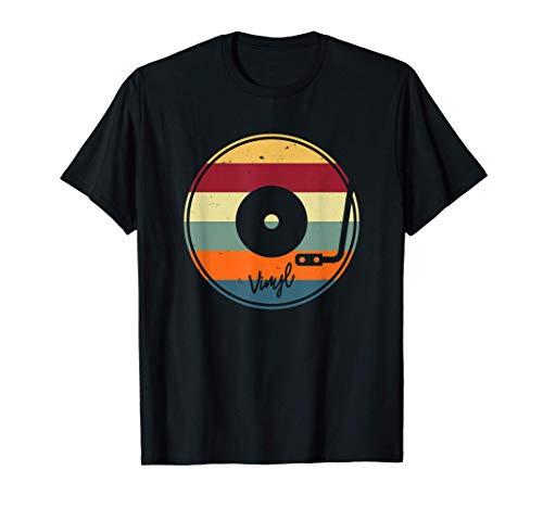 Schallplatte Vinyl - Plattenspieler DJ LP EP Musik T-Shirt