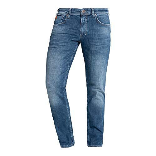 M.O.D Miracle of Denim Herren Jeans Thomas Comfort,Nelson Blau,38W / 34L