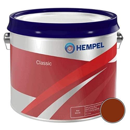 Hempel Classic Antifoul 2.5L: Red Brown