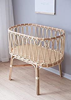 Rattan Baby Sleep Crib Baby Sleeping Bed