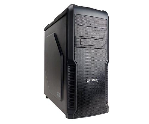 Zalman Z3 Midi-Tower PC-Gehäuse (ATX/Micro-ATX, 2X Externe 5,25, 4X interne 3,5, USB 3.0, Keine Stromversorgung)