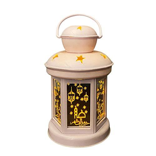 Linternidad Eid Ramadán Luces LED Luces Star Decoración De Jardín Decoración Colgante Outdoor Linterns, Decoración De Pared Hogar, Bajo Consumo Adecuado Para Muslim Islámica Eid, Terrazas, Bares