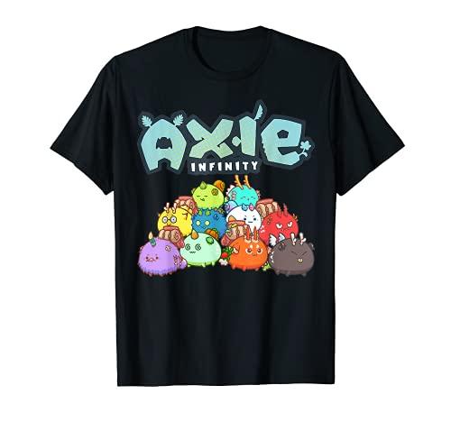 Axie Infinity NFT Trending Axie Infinity Personaggi Crypto Maglietta
