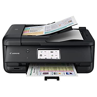 Canon PIXMA TR8520 Wireless Home photo Office All-In-One Printer with Scanner, Copier and Fax: Airprint and Google Cloud Compatible, Black
