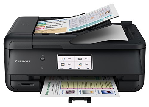Canon TR8520 All-In-One Printer For Home Office |Wireless | Mobile Printing | Photo and Document Printing,...