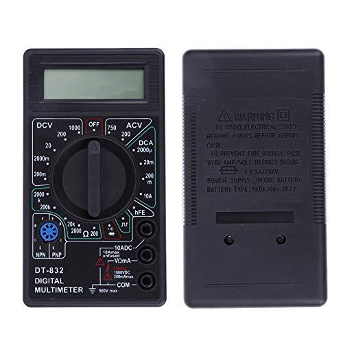 Best Deals! Professional LCD Digital Electric Voltmeter Ammeter Ohm Tester Meter Digital Multimeter ...