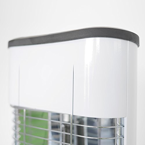VASNER StandLine 25R Infrarot Stand-Heizstrahler – weiß – 2500 Watt, Terrassenstrahler elektrisch - 3