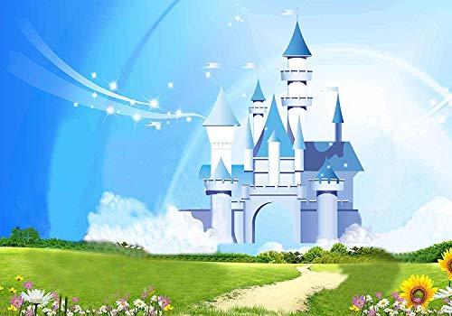 MEETS 7x5ft Disneyland Backdrop Donald Duck Mickey Mouse Photography Background Themed Party Photo Booth YouTube Backdrop GEMT921